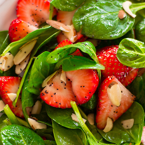(S) Strawberry Spinach Salad